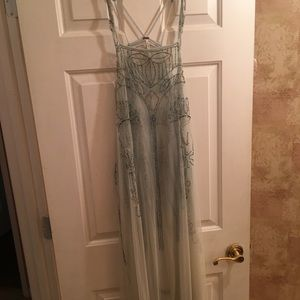 Free people beaded tunic top